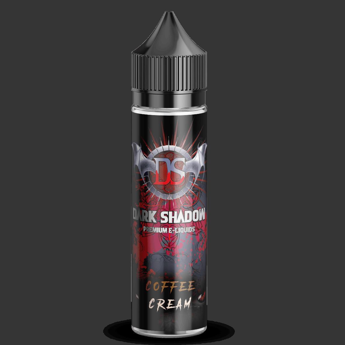 Dark shadow bottle 50ml coffee cream 525x525 - Coffee Cream E-Liquid by Dark Shadow