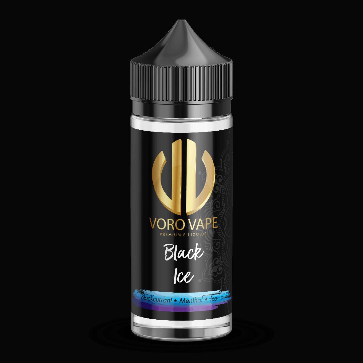 Black Ice E-Liquid Shortfill by Voro Vape