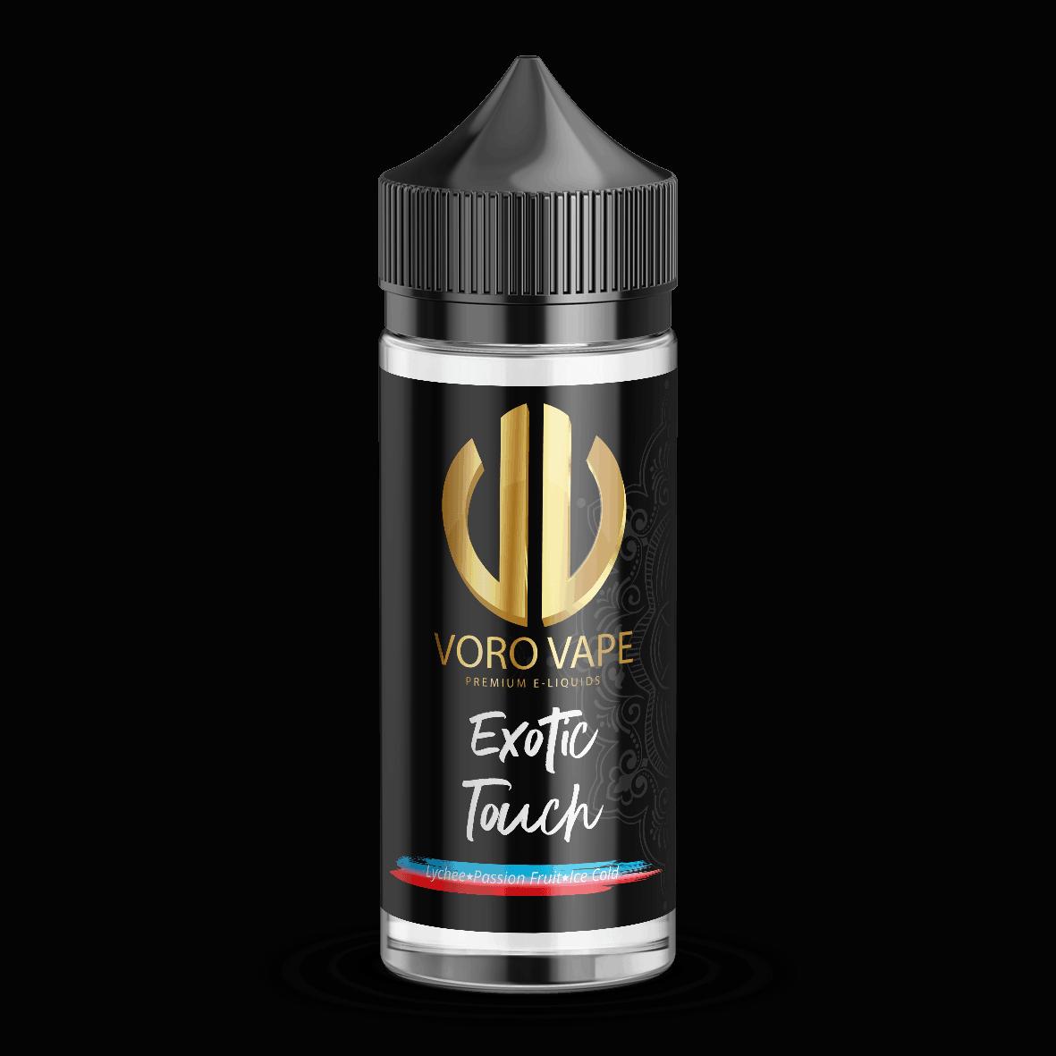 Voro Vape 100ml Exotic Touch 525x525 - Exotic Touch E-Liquid Shortfill by Voro Vape
