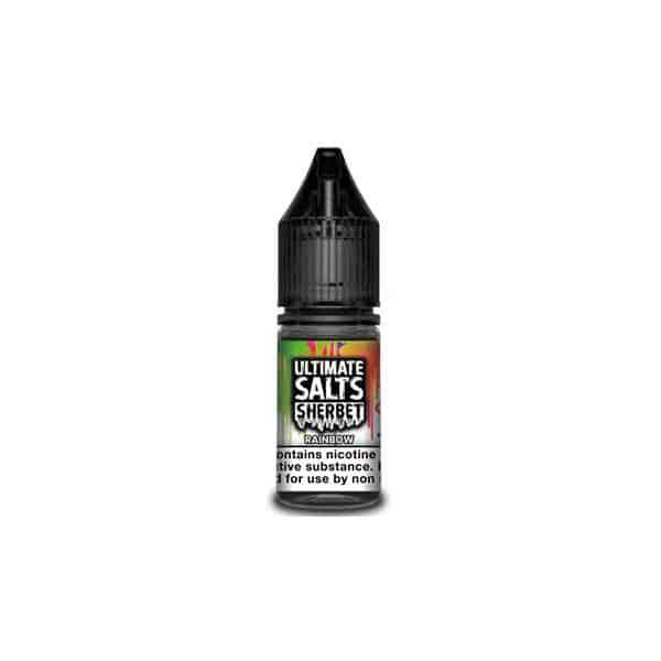 JWN10MGUltimateSaltsSherbet4 525x525 - 10MG Ultimate Puff Salts Sherbet 10ML Flavoured Nic Salts (50VG/50PG)