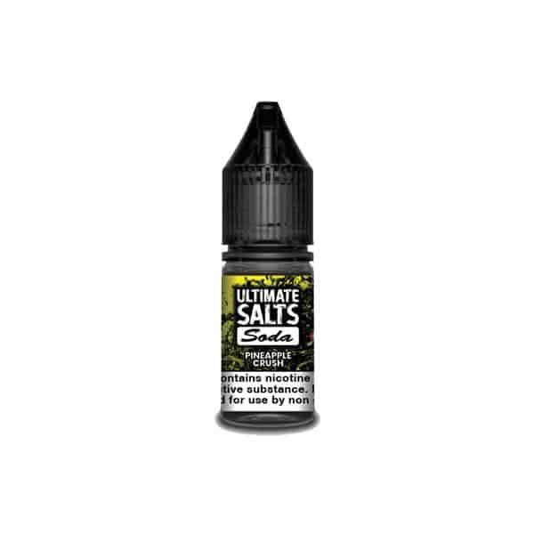 JWN10MGUltimateSaltsSoda1 16 525x525 - 10MG Ultimate Puff Salts Soda 10ML Flavoured Nic Salts (50VG/50PG)