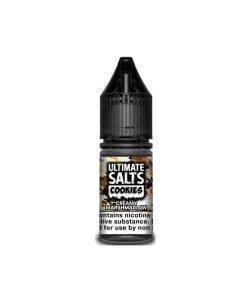 10mg Ultimate Puff Salts Cookies 10ML Flavoured Nic Salts (50VG/50PG) 5