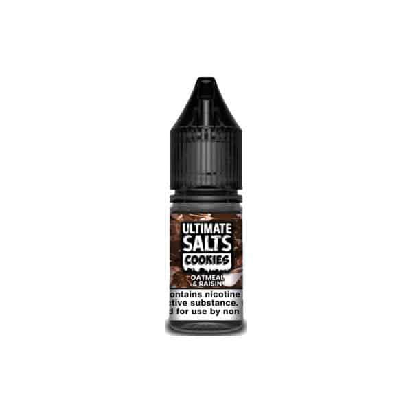 JWN10mgUltimateSaltsCookies5 525x525 - 10mg Ultimate Puff Salts Cookies 10ML Flavoured Nic Salts (50VG/50PG)