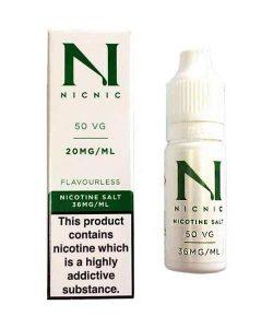 JWN20mgnicsalt10mlbynicnic50vg50pg 250x300 - 20mg Nic Salt 10ml by Nic Nic (50VG-50PG)
