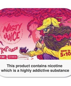 Nasty Juice 3mg 5x10ml Multipack (70VG/30PG) 8