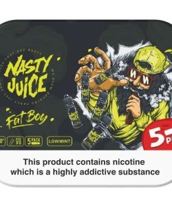 Nasty Juice 3mg 5x10ml Multipack (70VG/30PG) 2