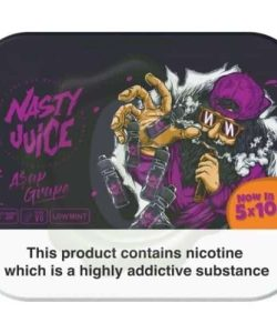 Nasty Juice 3mg 5x10ml Multipack (70VG/30PG) 5
