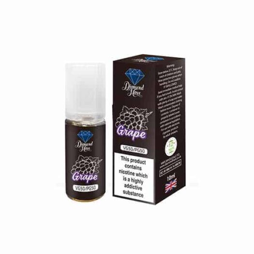 JWN6MGDIAMONDHAZEELIQUID10ML7 201 525x525 - 15 x DIAMOND HAZE 6MG 10ML E-LIQUID (50VG/50PG)