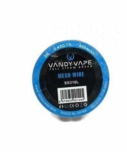 JWN7102222397784 250x300 - Vandy Vape Mesh Wire SS316L 0.43 Ohm-ft