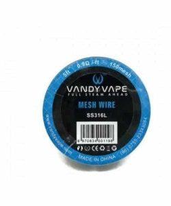 JWN7102223039614 250x300 - Vandy Vape Mesh Wire SS316L 0.9 Ohm-ft