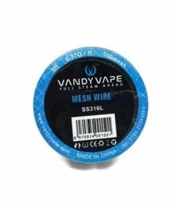 JWN7102226037655 250x300 - Vandy Vape Mesh Wire SS316L 0.37 Ohm-ft