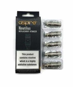 JWN7108053530536 250x300 - Aspire Nautilus BVC 0.7 / 1.6 / 1.8 Ohm Coil