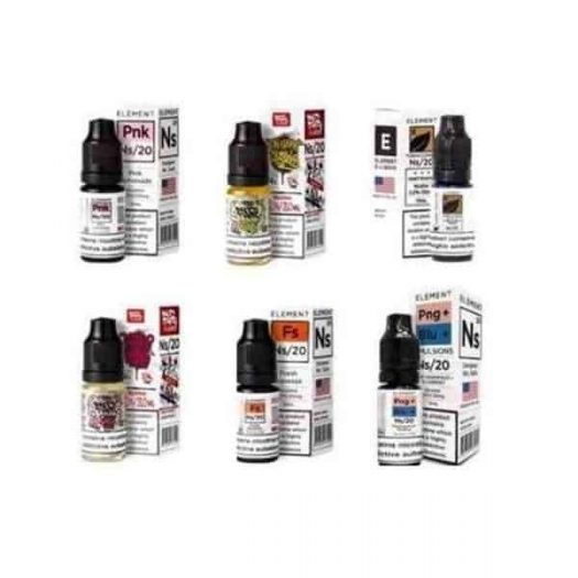 JWN7108057592462 525x525 - 10MG Element Designer 10ML Flavoured Nic Salts