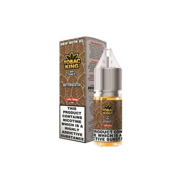 JWNAI0161X0006 1 525x525 - 10MG Tobac King On Salt 10ML Flavoured Nic Salt (50VG/50PG)