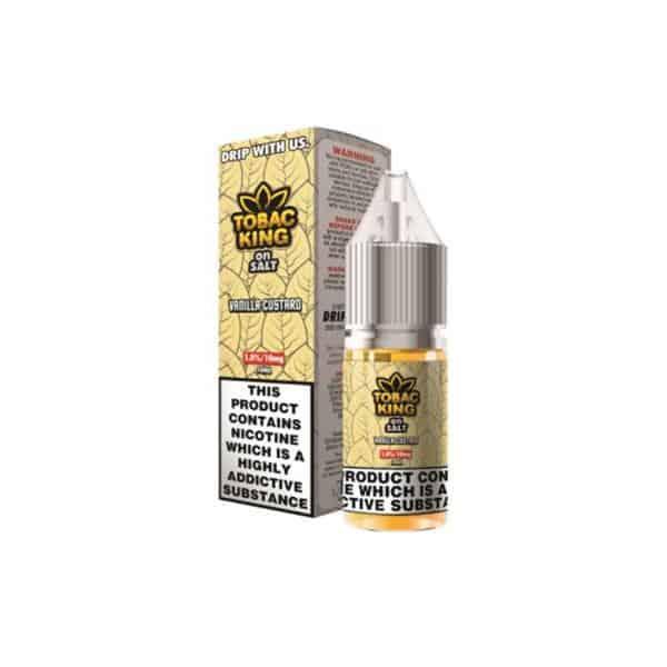 JWNAI0163X0006 525x525 - 10MG Tobac King On Salt 10ML Flavoured Nic Salt (50VG/50PG)