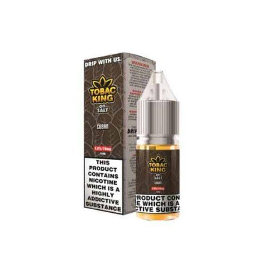 JWNAJ0001X0006 3 525x525 - 10MG Tobac King On Salt 10ML Flavoured Nic Salt (50VG/50PG)