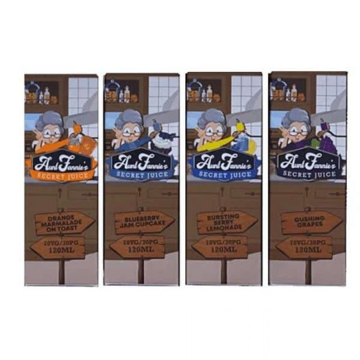 JWNAK0243X0001 36 525x525 - Aunt Fannie's Secret Juice 100ml Shortfill (70VG/30PG)