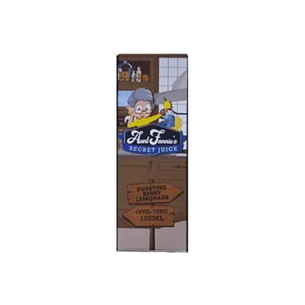 Aunt Fannie's Secret Juice 100ml E-Liquid Shortfill