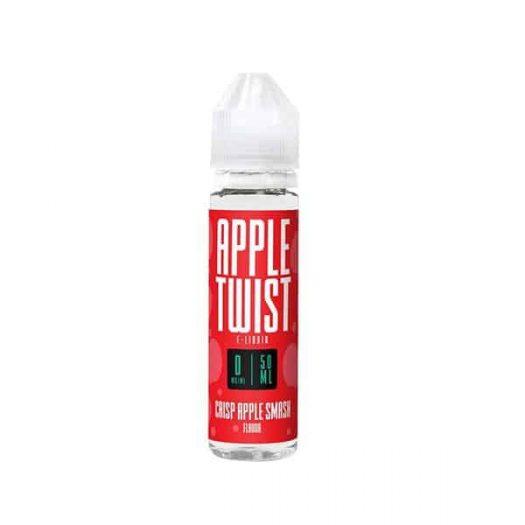 JWNAppleTwist50ml 525x525 - Apple Twist 0mg 50ml Shortfill E-Liquid (70VG-30PG)