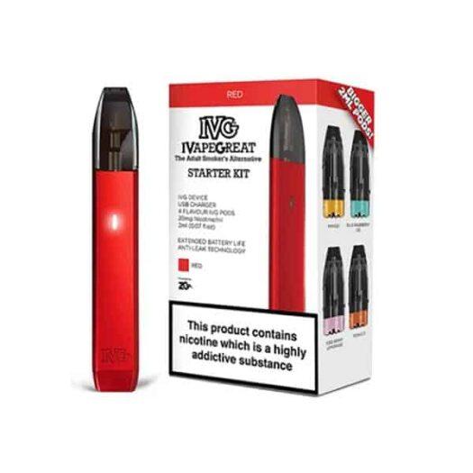 JWNIVGStarterKit4 13 525x525 - I VG Starter Kit + 4 Flavour Pods