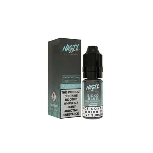 JWNNastySalt10mg10ML 1 525x525 - Nasty Salt 10mg 10ML Flavoured Nic Salt (50VG/50PG)