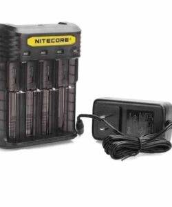 JWNNitecoreQ4Clear 250x300 - Nitecore New Q4 Charger -Black/Clear/Pink/Yellow