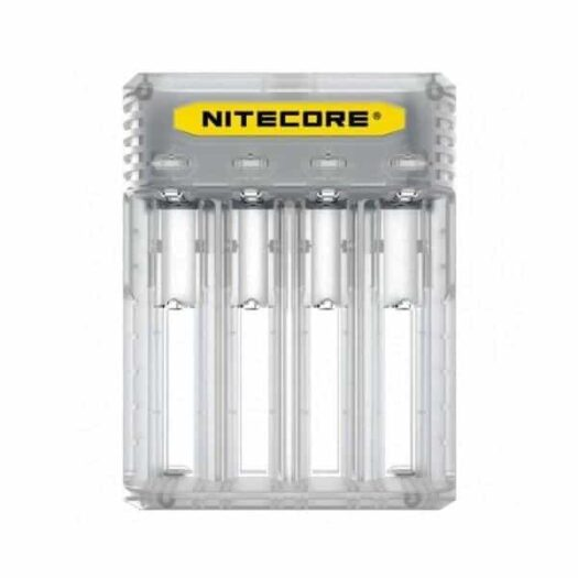 JWNNitecoreQ4Clear 1 525x525 - Nitecore New Q4 Charger -Black/Clear