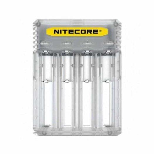 JWNNitecoreQ4Clear 1 525x525 - Nitecore New Q4 Charger -Black/Clear/Pink/Yellow