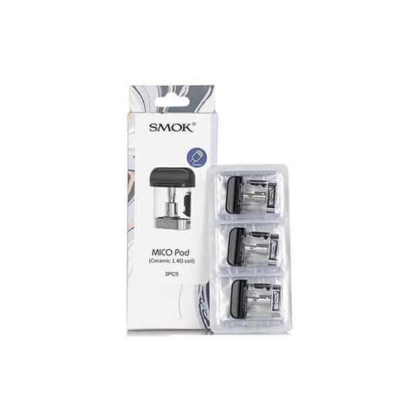 JWNSmokMicoPodCoilsCeramicMesh2 525x525 - Smok Mico Replacement Pod - Mesh/Ceramic