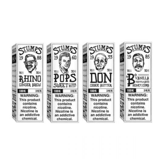 JWNStumps100ML3 525x525 - Stumps by Charlie's Chalk Dust 0MG 100ML (70VG/30PG)
