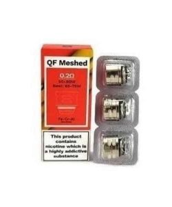 JWNVaporessoQFMeshedCoil02Ohm 250x300 - Vaporesso QF Meshed Coil - 0.2 Ohm