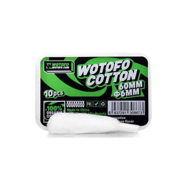 JWNWotofoAgletedOrganicCotton 525x525 - Wotofo Agleted Organic Cotton