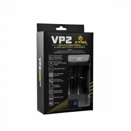 JWNXTARVP2Charger 525x525 - Xtar VP2 Charger