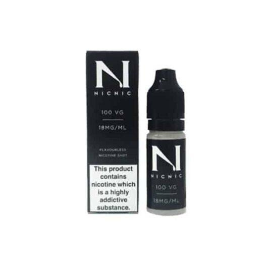 JWNnicnic18mgnicotineshot100vg10ml 525x525 - NIC NIC 18mg Nicotine Shot (100VG) 10ml