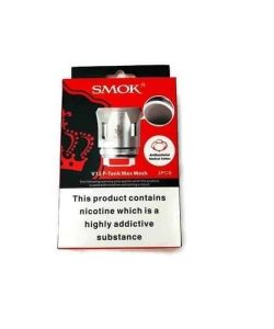 JWNsmokv12princemaxmeshcoil017ohm 250x300 - Smok V12 Prince Max Mesh Coil - 0.17 Ohm