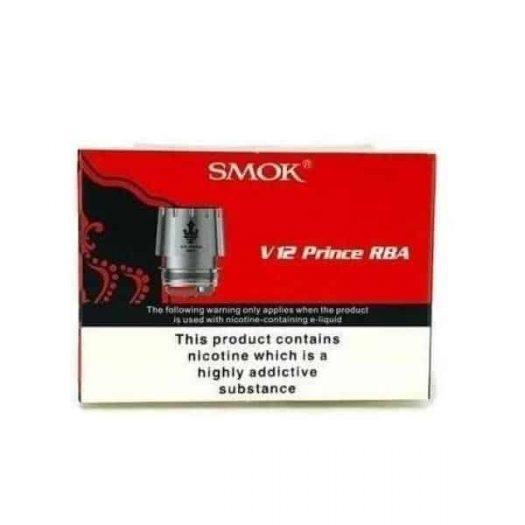 JWNsmokv12princerbadeckkit 525x525 - Smok V12 Prince RBA Deck Kit