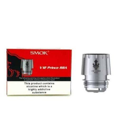 JWNsmokv12princerbadeckkit 1 525x525 - Smok V12 Prince RBA Deck Kit