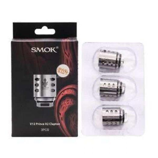 JWNsmokv12princex2claptoncoil04ohm 525x525 - Smok V12 Prince X2 Clapton Coil - 0.4 Ohm