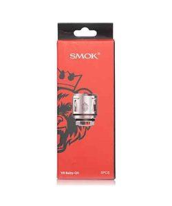 JWNsmokv8babyq4coil04ohm 250x300 - Smok V8 Baby - Q4 Coil - 0.4 Ohm