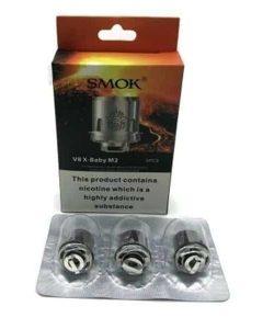 JWNsmokv8xbabym2025ohmcoil 250x300 - Smok V8 X-Baby M2 0.25 Ohm Coil