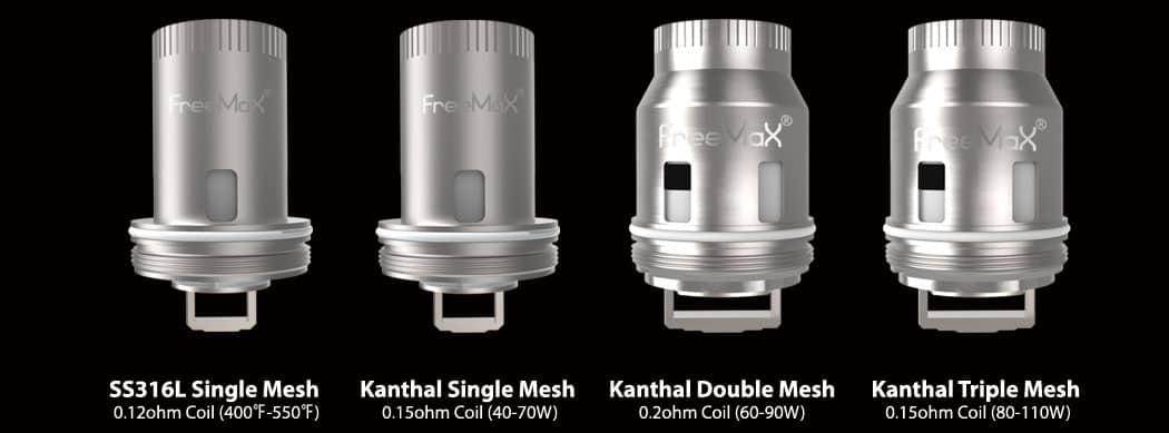 freemax mesh pro coils - FreeMax Mesh Pro Vape Tank