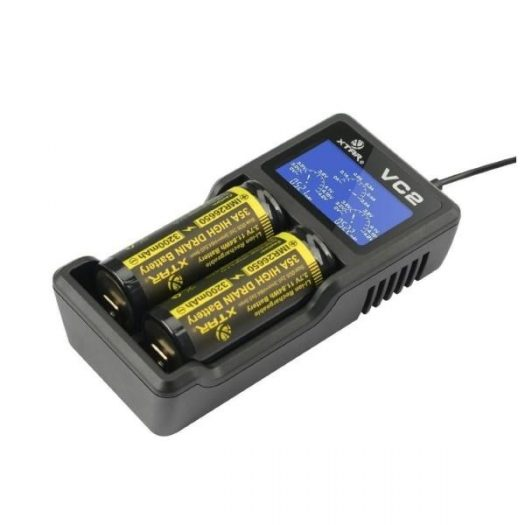 JWNxtarvc2charger 525x525 - Xtar VC2 Charger