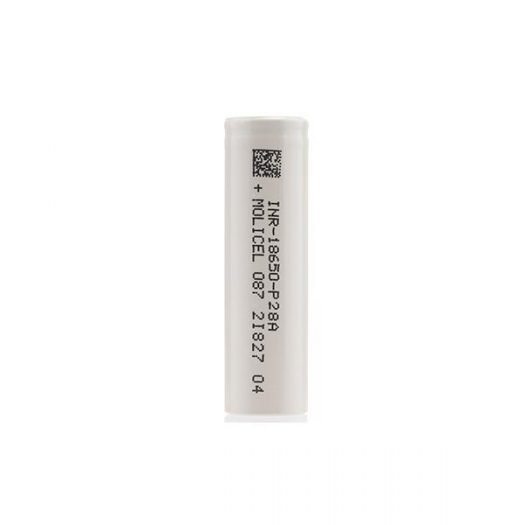 MOLICEL P28A 18650 2800mAh Battery for use with vape devices