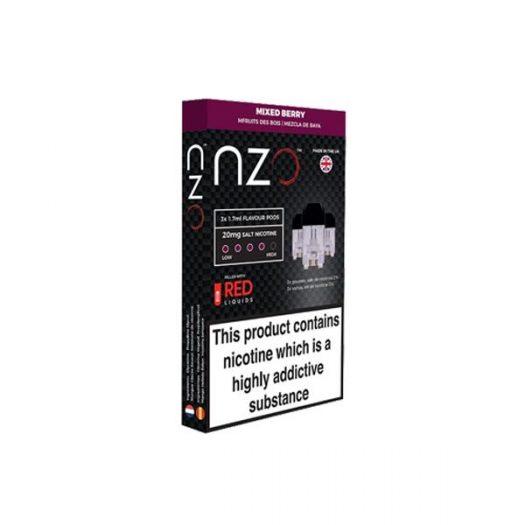 JWNBB0026X0033 525x525 - NZO 20mg Salt Cartridges with Red Liquids Nic Salt (50VG/50PG)