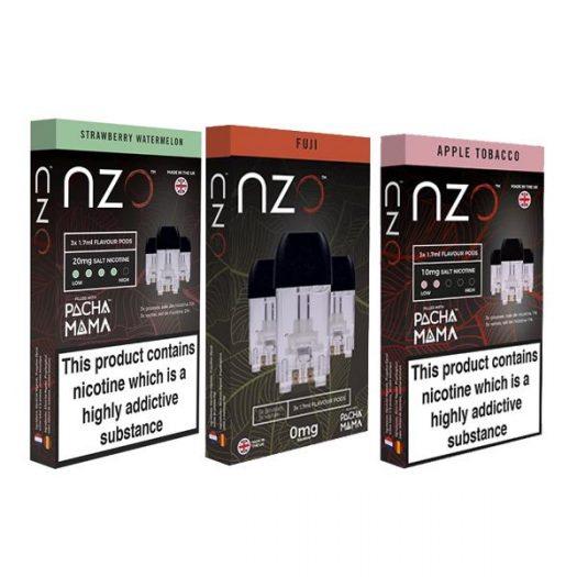 JWNBB0031X0033 3 525x525 - NZO 10mg Salt Cartridges with Pacha Mama Nic Salt (50VG/50PG)