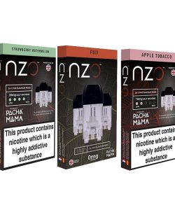 JWNBB0032X0033 5 250x300 - NZO 20mg Salt Cartridges with Pacha Mama Nic Salt (50VG/50PG)