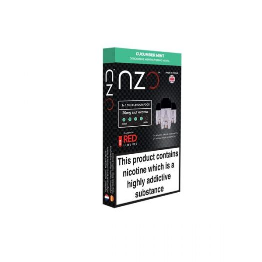 JWNBB0039X0033 525x525 - NZO 20mg Salt Cartridges with Red Liquids Nic Salt (50VG/50PG)