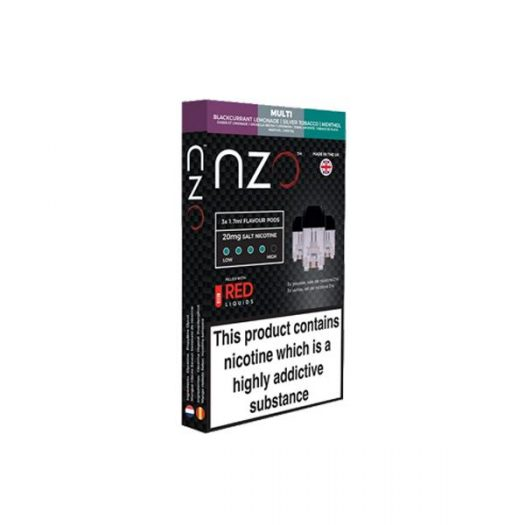 JWNBB0039X0033 1 525x525 - NZO 20mg Salt Cartridges with Red Liquids Nic Salt (50VG/50PG)