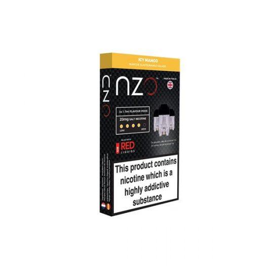 JWNBB0039X0033 33 525x525 - NZO 20mg Salt Cartridges with Red Liquids Nic Salt (50VG/50PG)