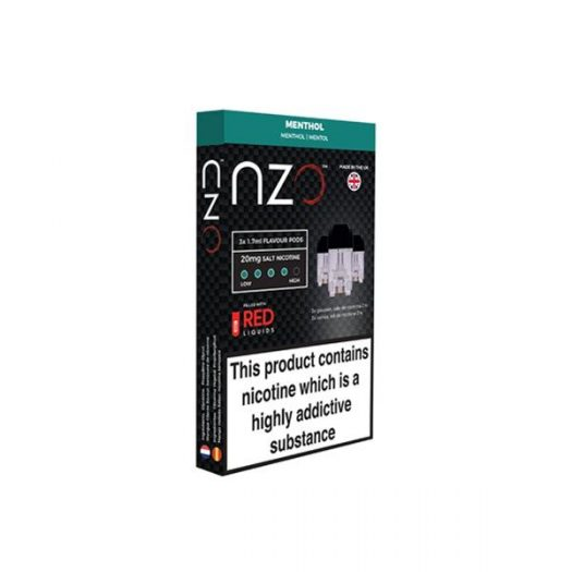 JWNBB0039X0033 41 525x525 - NZO 20mg Salt Cartridges with Red Liquids Nic Salt (50VG/50PG)